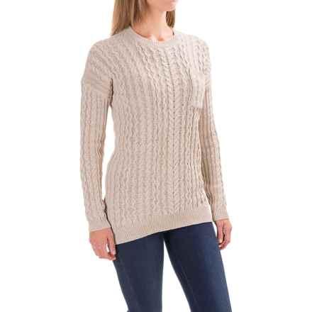 Gramicci Take a Walk Sweater (For Women) in Oatmeal - Closeouts