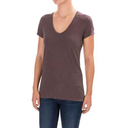 Gramicci Tara T-Shirt - UPF 20+, Hemp-Organic Cotton, Short Sleeve (For Women) in Mink Brown - Closeouts