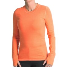 Gramicci Teddy Wonder Base Layer Top - Long Sleeve (For Women) in Orange Tango - Closeouts