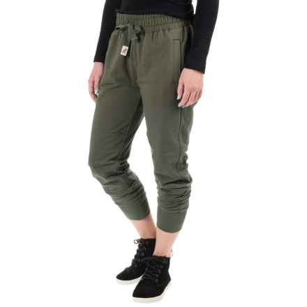 Gramicci Tessie Joggers (For Women) in Charcoal Grey - Closeouts