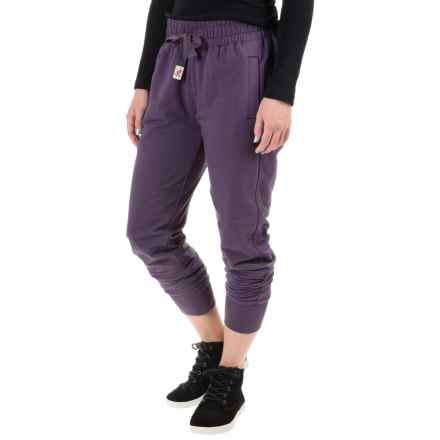 Gramicci Tessie Joggers (For Women) in Deep Petunia - Closeouts