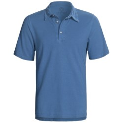 Gramicci Tirreno Polo Shirt - Hemp-Organic Cotton, Short Sleeve (For Men) in Chili Pepper