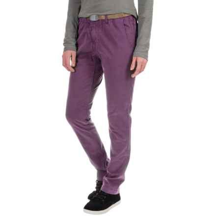 Gramicci Tokyo G Skinny Pants (For Women) in Grape Purple - Closeouts