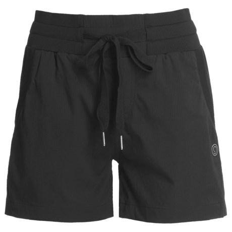 Gramicci Tokyo Ripstop Shorts - UPF 30 (For Women) in Jet Black