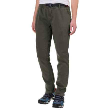 Gramicci Tokyo Skinny 2.0 Pants (For Women) in Asphalt Grey/Black Belt - Closeouts