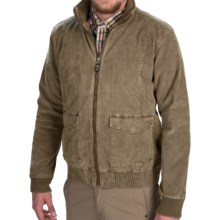 Gramicci Tomah Corduroy Bomber Jacket (For Men) in Classic Khaki - Closeouts