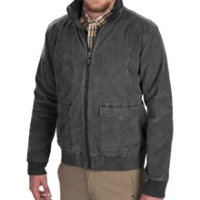 Gramicci Tomah Corduroy Bomber Jacket (For Men) in Flannel Grey - Closeouts