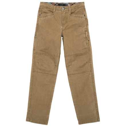 Gramicci Tough Boy Pants (For Little and Big Boys) in Caramel Tan - Closeouts