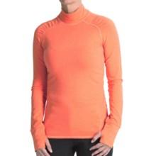 Gramicci Trail Run Underlayer Turtleneck - Long Sleeve (For Women) in Orange Tango - Closeouts