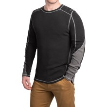 Gramicci Tyler Color-Block Thermal Shirt - Crew Neck, Long Sleeve (For Men) in Black - Closeouts