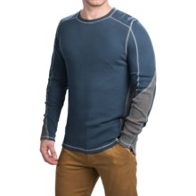 Gramicci Tyler Color-Block Thermal Shirt - Crew Neck, Long Sleeve (For Men) in Ink - Closeouts