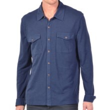 Gramicci Tyrol Hemp-Organic Cotton Shirt - UPF 20, Long Sleeve (For Men) in Indigo Blue - Closeouts