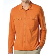 Gramicci Tyrol Shirt - UPF 20, Hemp-Organic Cotton, Long Sleeve (For Men) in Harvest Orange - Closeouts