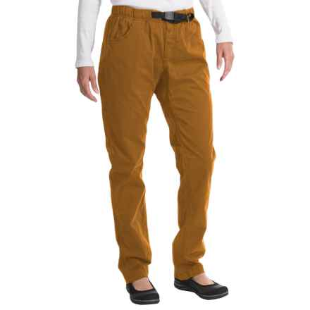 Gramicci Urban G Pants - Orphia Stretch Twill (For Women) in Amber - Closeouts