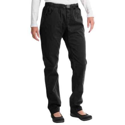 Gramicci Urban G Pants - Orphia Stretch Twill (For Women) in Black - Closeouts