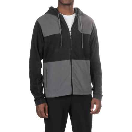 Gramicci Utility Microfleece Jacket (For Men) in Black/Asphalt Grey - Closeouts