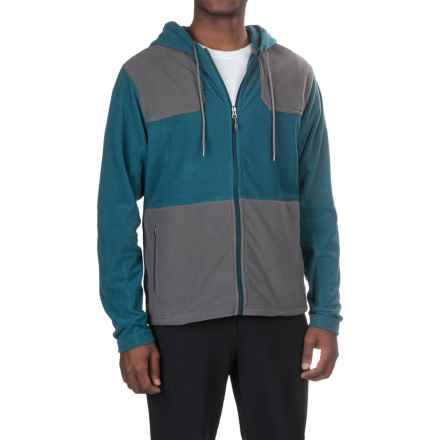 Gramicci Utility Microfleece Jacket (For Men) in Legion Blue/Asphalt Grey - Closeouts