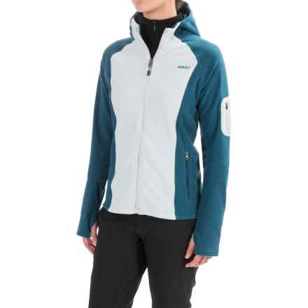 Gramicci Utility Microfleece Jacket (For Women) in Glacier Blue/Legion Blue - Closeouts