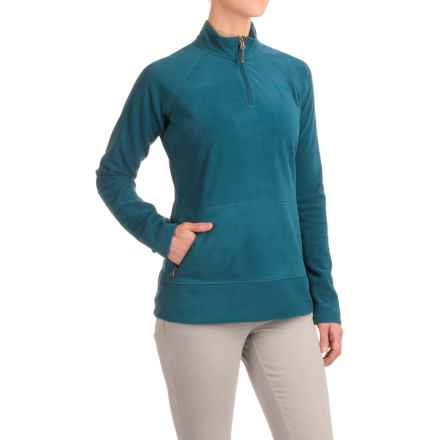Gramicci Utility Zip Neck Fleece Shirt - Long Sleeve (For Women) in Legion Blue - Closeouts