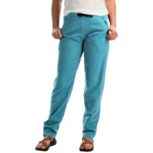 Gramicci Vintage G Dourada Pants - Cotton (For Women) in Biscay Bay - Closeouts