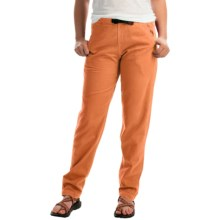 Gramicci Vintage G Dourada Pants - Cotton (For Women) in Clementine - Closeouts
