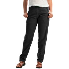 Gramicci Vintage G Dourada Pants - Cotton (For Women) in Coal - Closeouts