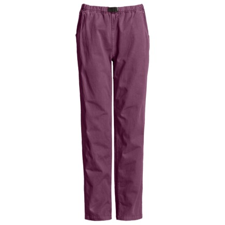 Gramicci Vintage G Dourada Pants - Cotton (For Women) in Japanese Plum