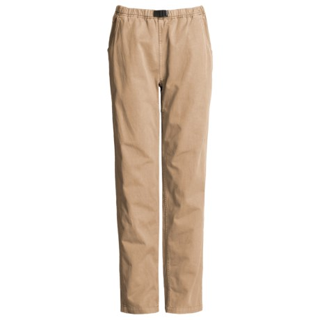 Gramicci Vintage G Dourada Pants - Cotton (For Women) in Oatseed