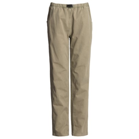 Gramicci Vintage G Dourada Pants - Cotton (For Women) in Tuscan Hay