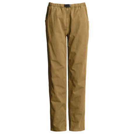 Gramicci Vintage G Dourada Pants - Cotton (For Women) in Wheat