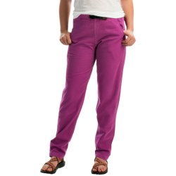 Gramicci Vintage G Dourada Pants - Cotton (For Women) in Wild Aster