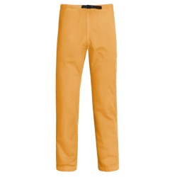 Gramicci Vintage G Pants (For Men) in Sun Yellow