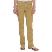 Gramicci Violet Pants - Peached Twill, Bootcut (For Women) in Gold - Closeouts