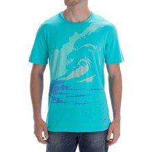 Gramicci Wall Of Sound T-Shirt - Organic Cotton (For Men) in Scuba Blue - Closeouts