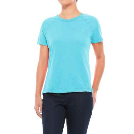 Gramicci Weekend Raglan T-Shirt - Short Sleeve (For Women) in Fiji Blue - Closeouts