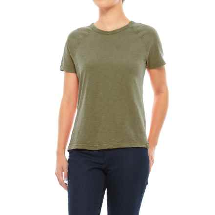 Gramicci Weekend Raglan T-Shirt - Short Sleeve (For Women) in Olive Bronze - Closeouts