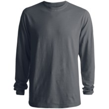 Gramicci Wheeler T-Shirt - Hemp-Organic Cotton, Long Sleeve (For Men) in Falcon Grey - Closeouts