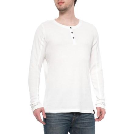 ebf7d8b0 Gramicci White Jak Henley Shirt - Long Sleeve (For Men) in White