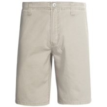 Gramicci Wilson's Creek Shorts - Cotton Twill (For Men) in Old Stone - Closeouts