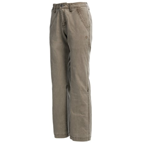 Gramicci Yoshu Pants - Diamond Twill, Roll-Up Cuffs (For Women) in Amphora