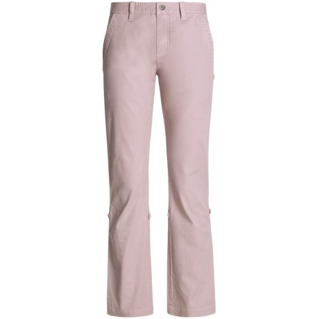 Gramicci Yoshu Pants - Diamond Twill, Roll-Up Cuffs (For Women) in Keepsake Lilac