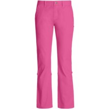 Gramicci Yoshu Pants - Diamond Twill, Roll-Up Cuffs (For Women) in Rasberry Rose - Closeouts