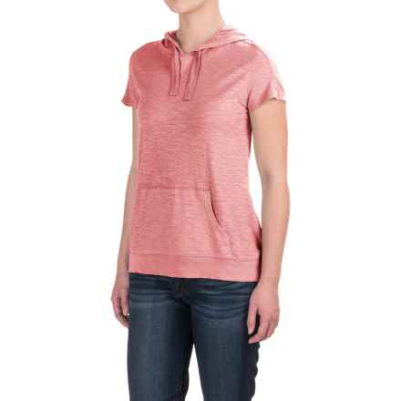 Gramicci Ziggy Hooded Shirt - UPF 20, Short Sleeve (For Women) in Strawberry Ice - Closeouts