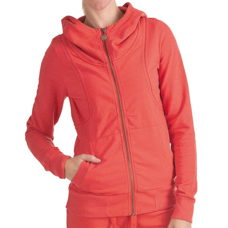 Gramicci Zuka Renata Hoodie - UPF 50, French Terry (For Women) in Cayene