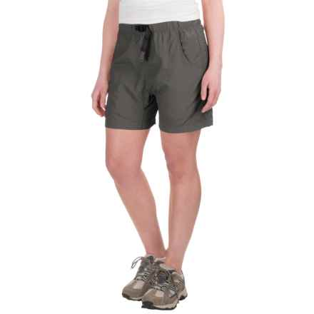 Gramicci's Quick Dry 2 G-Shorts - UPF 30 (For Women) in Asphalt Grey - Closeouts