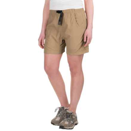 Gramicci's Quick Dry 2 G-Shorts - UPF 30 (For Women) in Beach Khaki - Closeouts