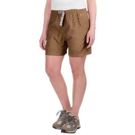 Gramicci's Quick Dry 2 G-Shorts - UPF 30 (For Women) in French Khaki - Closeouts