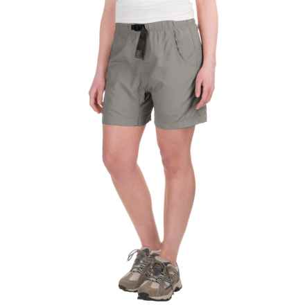 Gramicci's Quick Dry 2 G-Shorts - UPF 30 (For Women) in J Grey - Closeouts