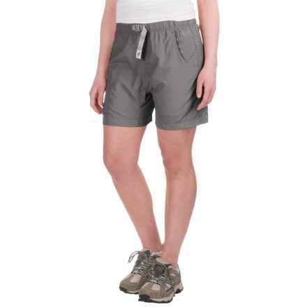 Gramicci's Quick Dry 2 G-Shorts - UPF 30 (For Women) in Light Grey - Closeouts