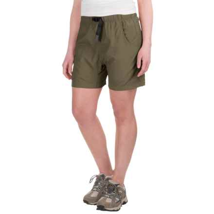 Gramicci's Quick Dry 2 G-Shorts - UPF 30 (For Women) in Olive Stone - Closeouts